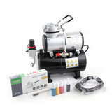 Airbrush Set Fengda FD-186K(AS-186K) with compressor FD-186, Airbrush BD-130 and accessories _