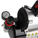 UK Plug-Timbertech ABPST08K airbrush compressor complete set met verbeterde koelventilator mini compressor airbrushpistool en airbrush accessoires_