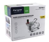 Mini airbrush compressor Fengda AS18-2(FD18-2)_