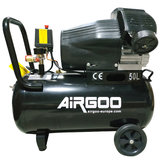 Airgoo AG-80 Compressor  50 liter - 8 bar - 360L/min - 3HP_