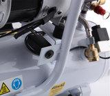 Airgoo AG-10L stille compressor 9 liter - 8 bar - 80 l / min - 3/4 HP_