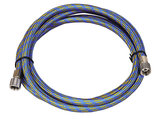 Airbrushslang blauw Fengda BD-24  1,80m - G1/8-G1/8_
