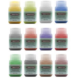 Timbertech Acrylic Verf-12 Colors(30ML)