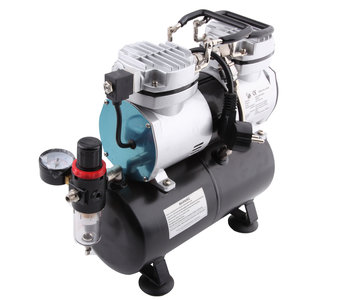 Fengda Airbrush mini compressor met luchttank RAS-196
