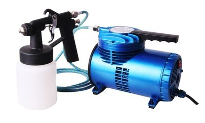 Spray tanning set Fengda  AS-06K mini compressor AS-06 en Airbrush Spray tanning pistool