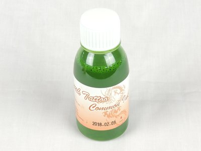 Body paint Airbrush tattoo verf Farbe green groen grün