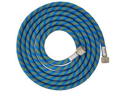 Airbrushslang blauw Fengda BD-24  1,80m - G1/8-G1/8